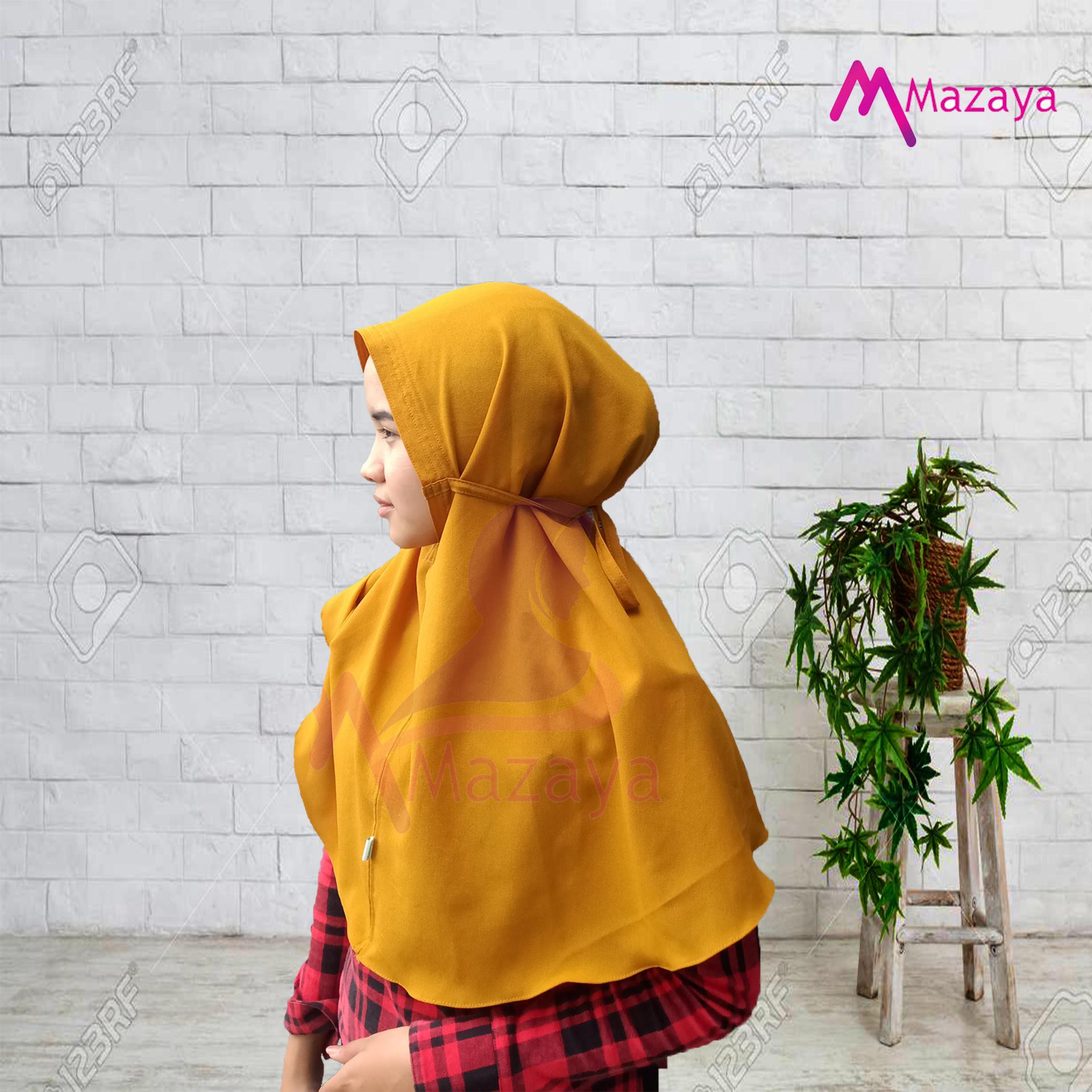Hijab Jilbab Bergo Maryam Diamond Tali M Nonpad Lazada Indonesia
