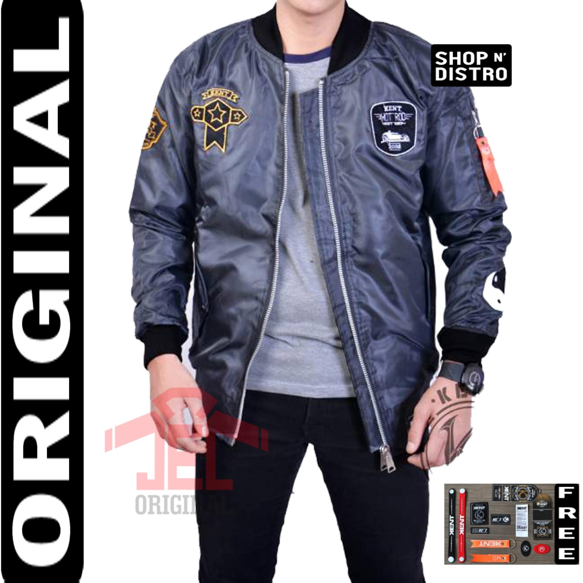 PILOT - Jaket Bomber Original Police Full Premium Waterproof Quality Distro - Jaket Tebal - Jacket
