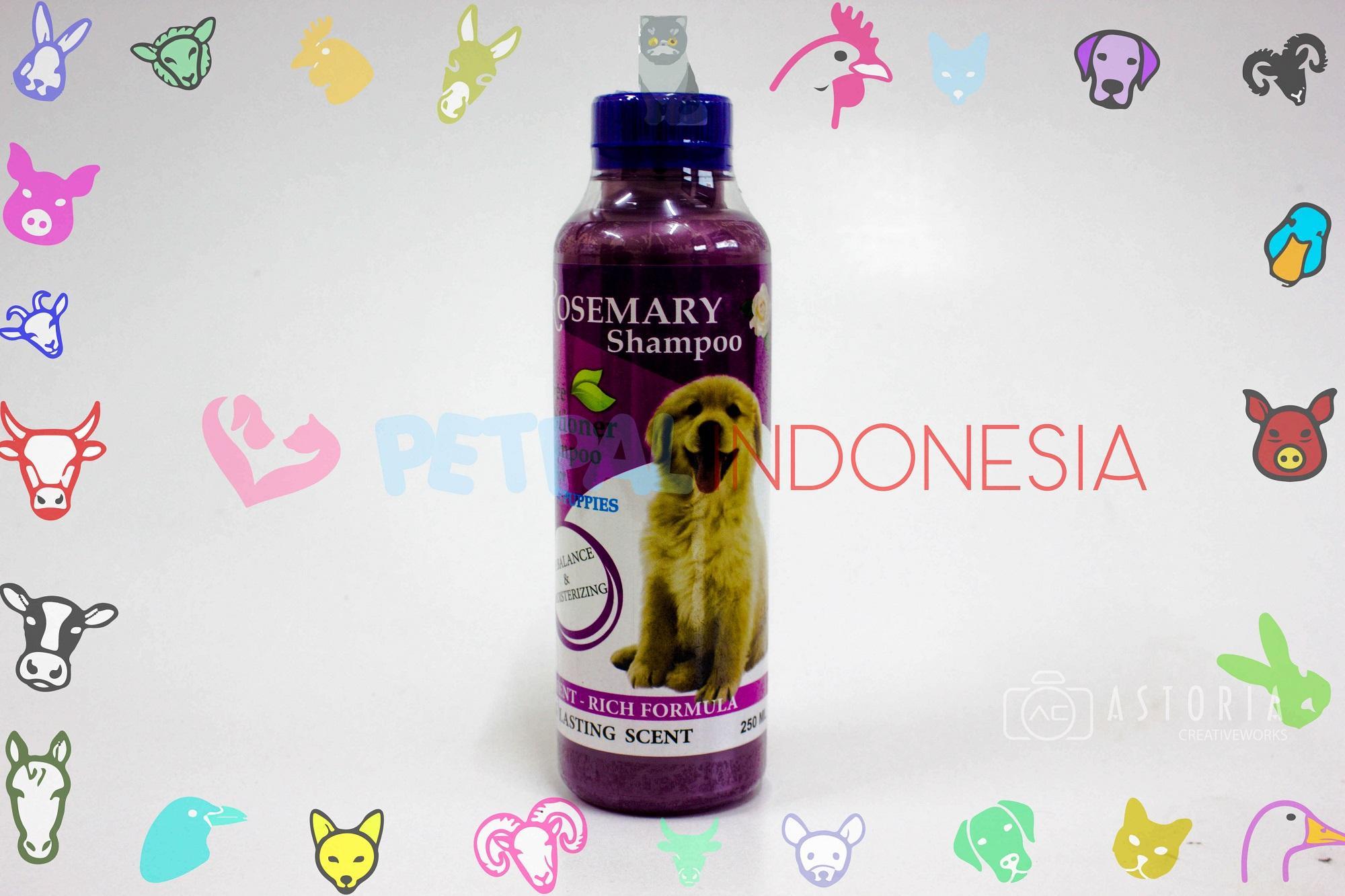 ROSEMARY SHAMPOO Tea Tree Conditioner Shampoo For Dog Puppies PH Balance Moisterizing Nutrient-Rich Formula