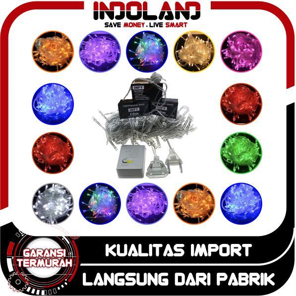 Indoland - Lampu Led Tumblr 10 Meter Dekorasi Hias Natal Twinkle Light Import Murah Batam By Indoland.