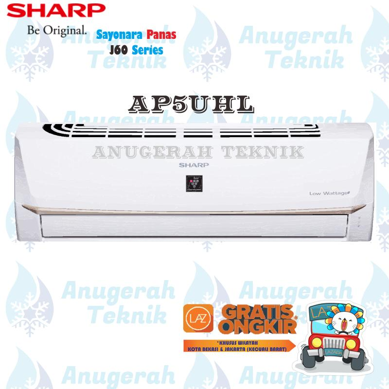 Sharp AC Split 1/2 PK R32 Sayonara Panas Non Inverter - AP5UHL