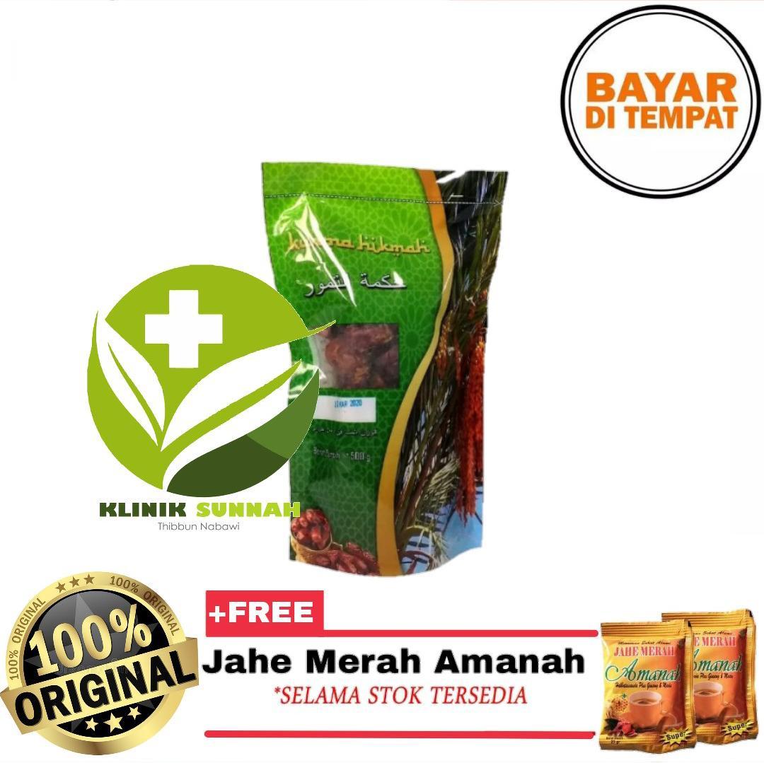 Kurma Hikmah Khalas Premium 500gr + Jahe Amanah By Kliniksunnah.