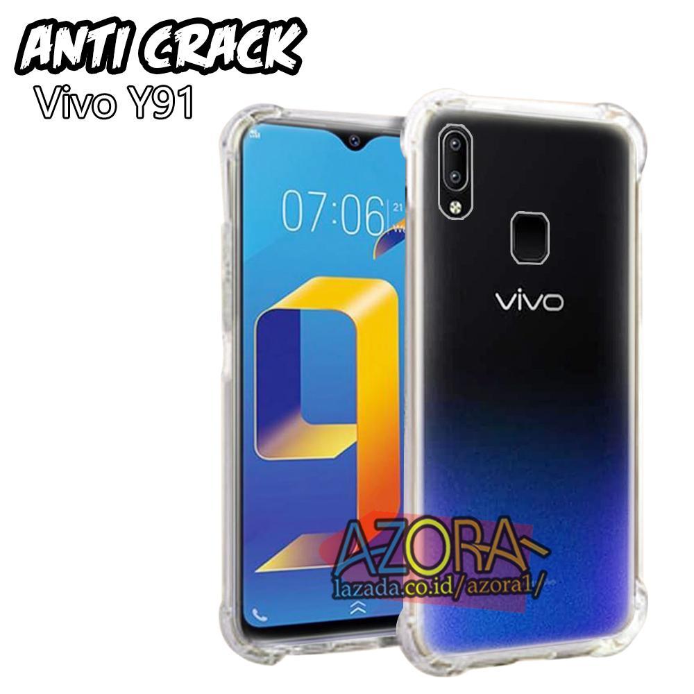 Case Anti Crack Vivo Y91 / Y93 / Y95 ( 6.22 inch ) FINGER PRINT Ultra