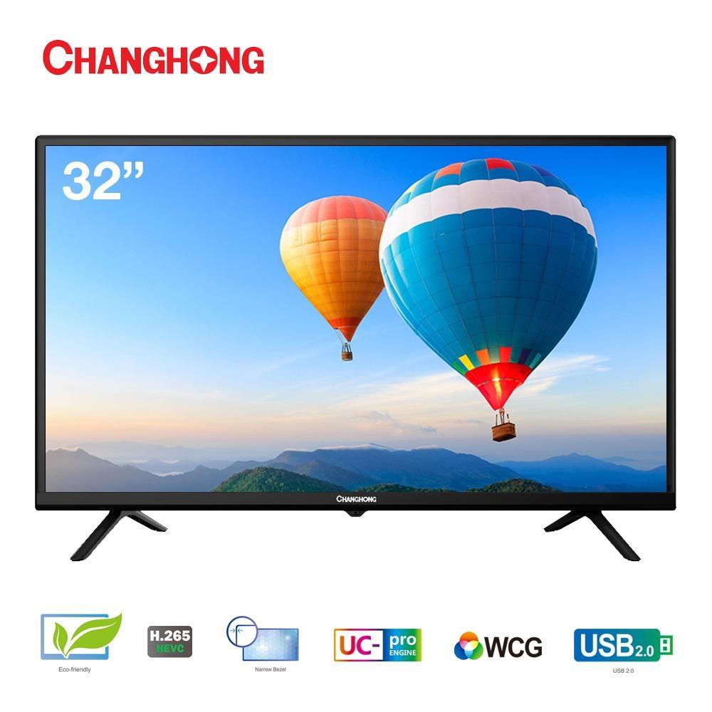 CHANGHONG LED TV 32 Inch - HD TV - USB/HDMI - L32G3A - Garansi Resmi 3 Tahun