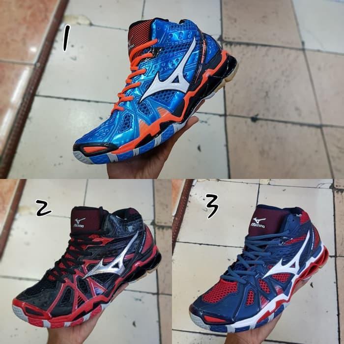 Sepatu Voli Mizuno Wave Tornado 9 Mid - Sneaker - Sepatu Santai - Sepatu Olahraga -