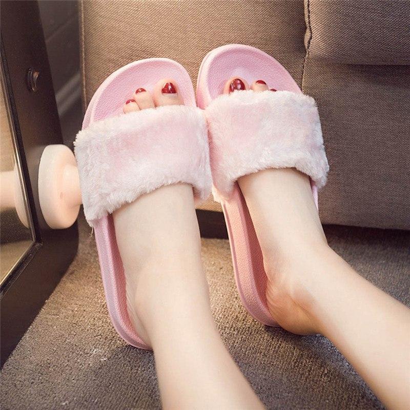 Sandal Wanita Slop Bulu Sb Ciello By Voshiro Shop.