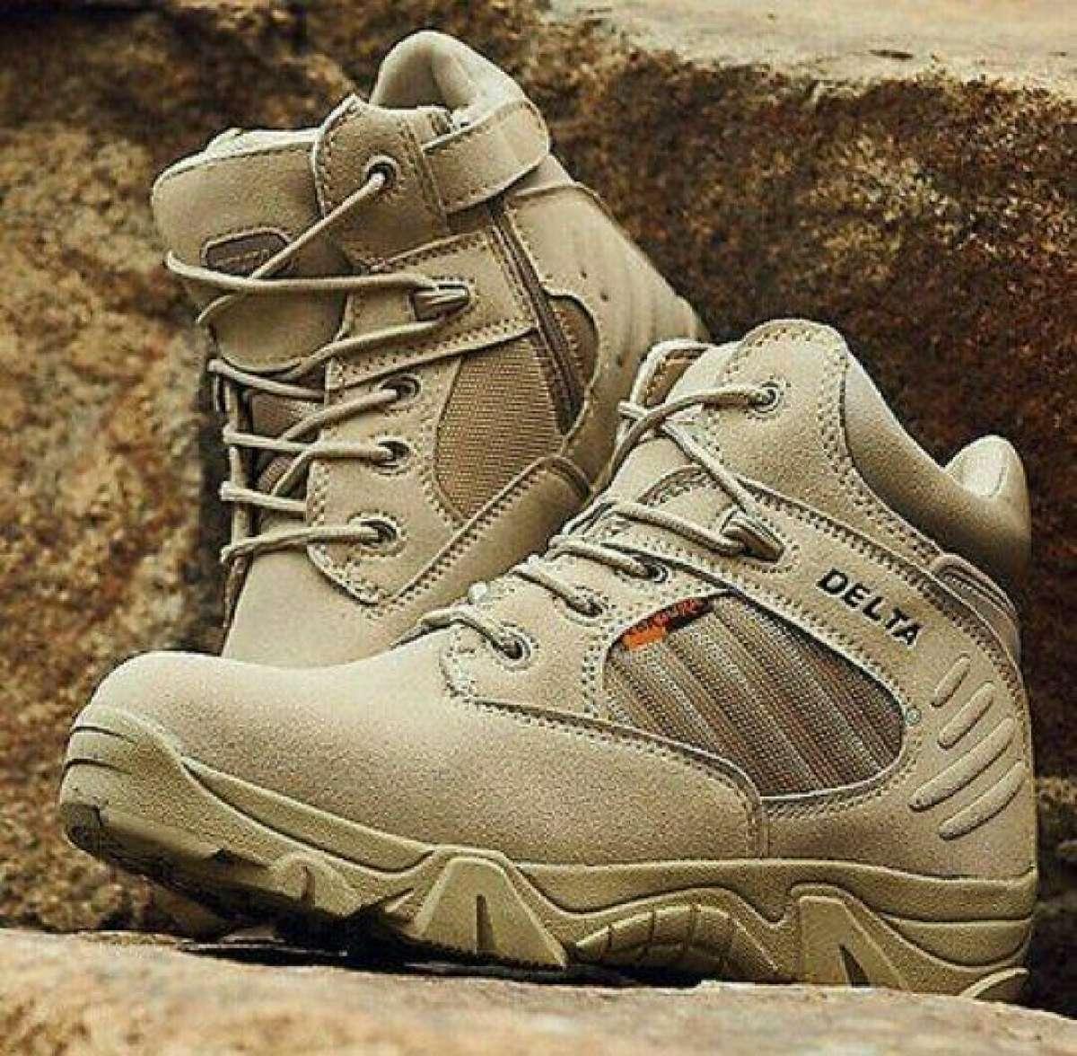 Delta Sepatu Coklat Gurun 6 inchi DB 5450 S Outdor Original ( COD)