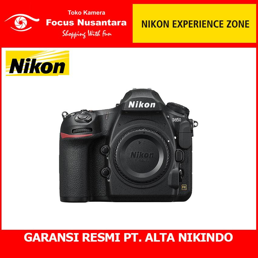 Nikon D850 Kamera Dslr - Hitam [45.7 Mp/ Body Only] Black By Focus Nusantara--.