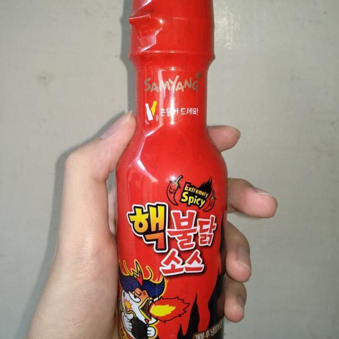 COD - SAMYANG SAUCE BOTTLE ORIGINAL KOREA - EXTREMELY SPICY SAUS SAMYANG