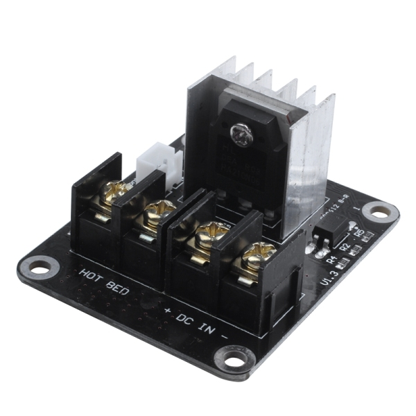 Bảng giá 3D Printer hotbed MOSFET expansion module inc 2pin lead Anet A8 A6 A2 Compatible Black Phong Vũ