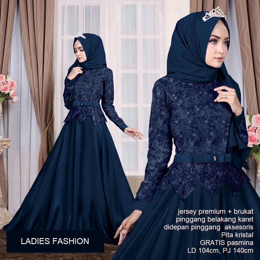 Princess Gamis Aulia Gamis Syari Wanita Terbaru Fashion Muslim Wanita Maxi  Dress Muslim Gamis Wanita gamis hijab maxi fashion baju muslim wanita
