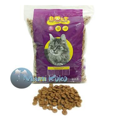 Makanan Kucing Bolt 1 Kg Repacking Makanan Kering Repack 1 Kg