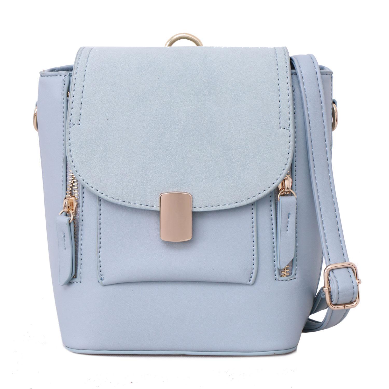 Tas Wanita Lorica by Elizabeth Feivel Backpack Light Blue 9054fc2f85