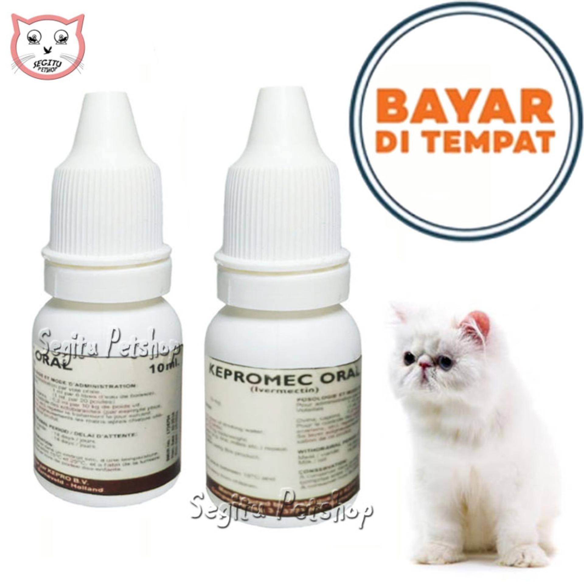 Obat Kutu Jamur Scabies Kucing Anjing Kelinci Hewan Kepromec Repack 10 Ml By Segitu Petshop Tangerang.