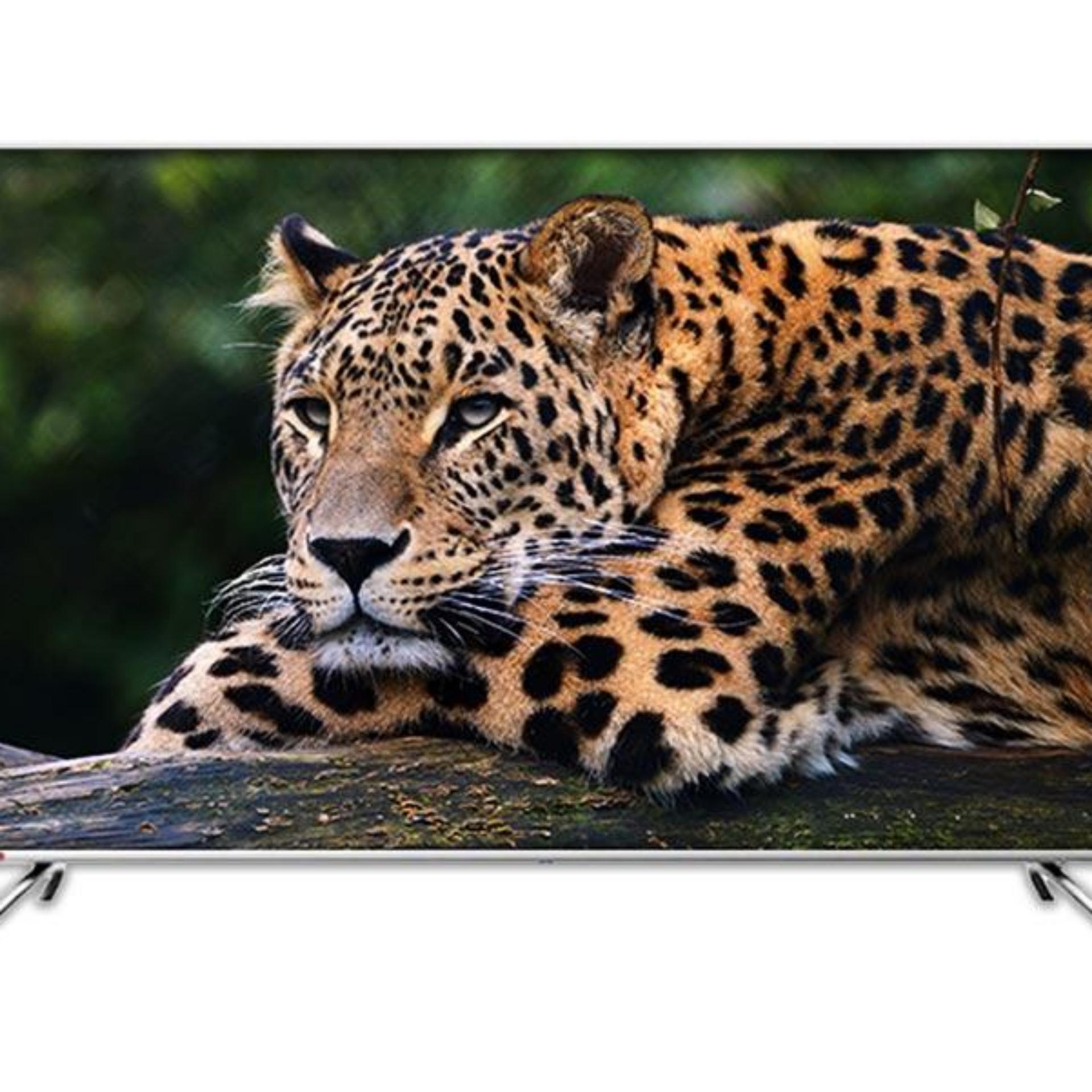 Changhong Framless U65H7A LED TV Android TV [65 Inch/ UHD TV] 4K UHD