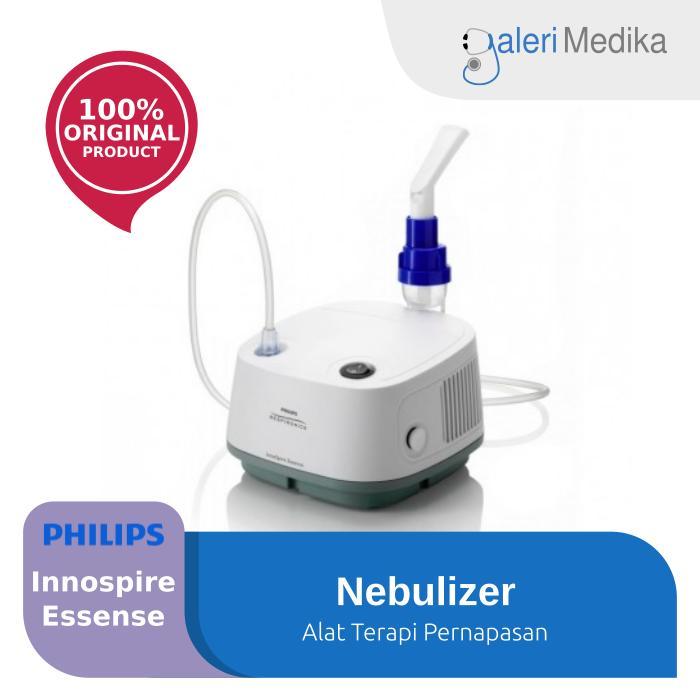 Philips Nebulizer Innospire Essense Alat Terapi Uap - Putih By Galeri Medika.
