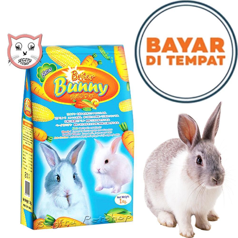 Makanan Kelinci Briter Bunny Rabbit 1 Kg By Lucky Petshop.