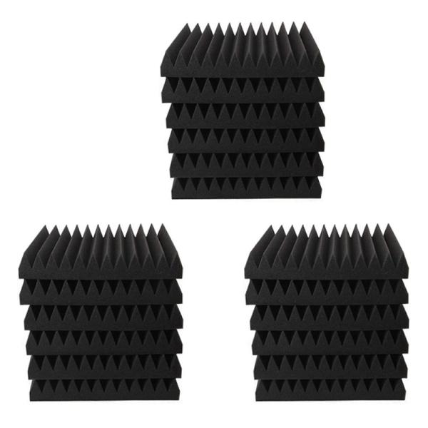 18Pcs 30X30X2.5CM Soundproofing Sponge Brick Noise Absorbing Processing Studio Sound-Absorbing Brick Foam