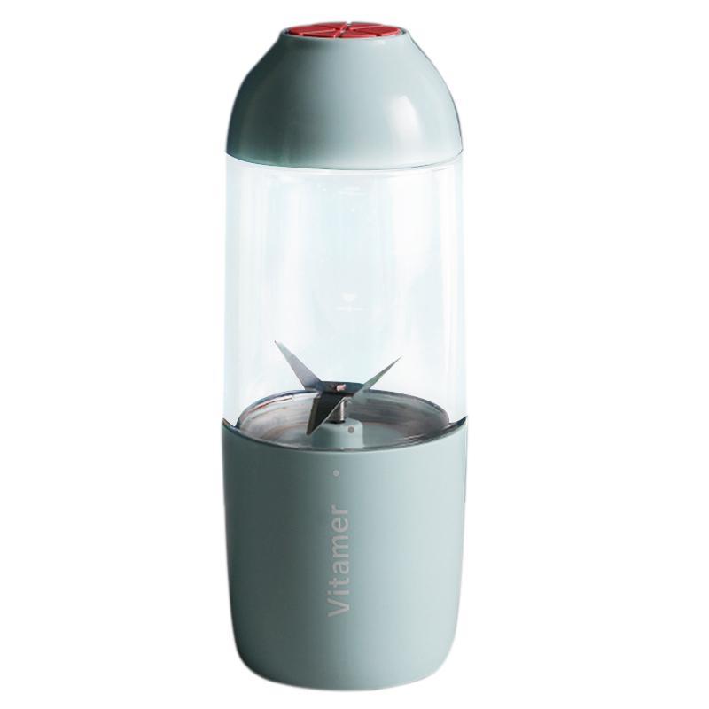 Vitamer Mini Juicer Usb Charging Mode Portable Charging Treasure Function Small Juicer Blender Egg Whisk Fruits Mixer