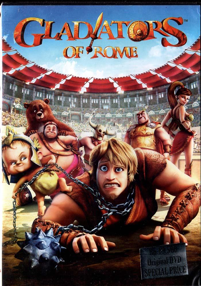 Dvd - Gladiators Of Rome By Womdisc.