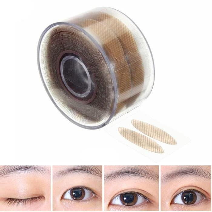 Terlaris Promo Eyelid Sticker Roll Jaring Coklat Skot Mata Size S / L Grosir - Bdlvpevj By Naila Collection.