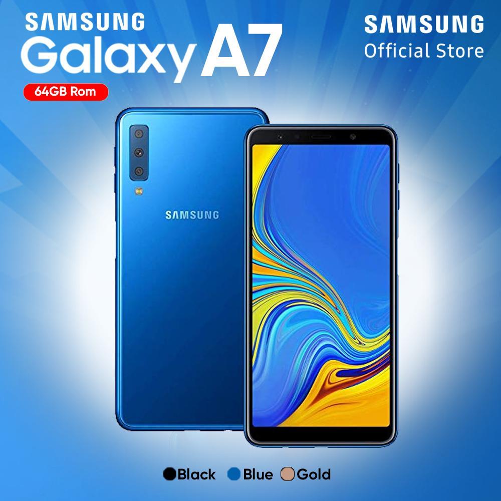 Samsung Galaxy A7 2018 4GB/64GB - Garansi Resmi