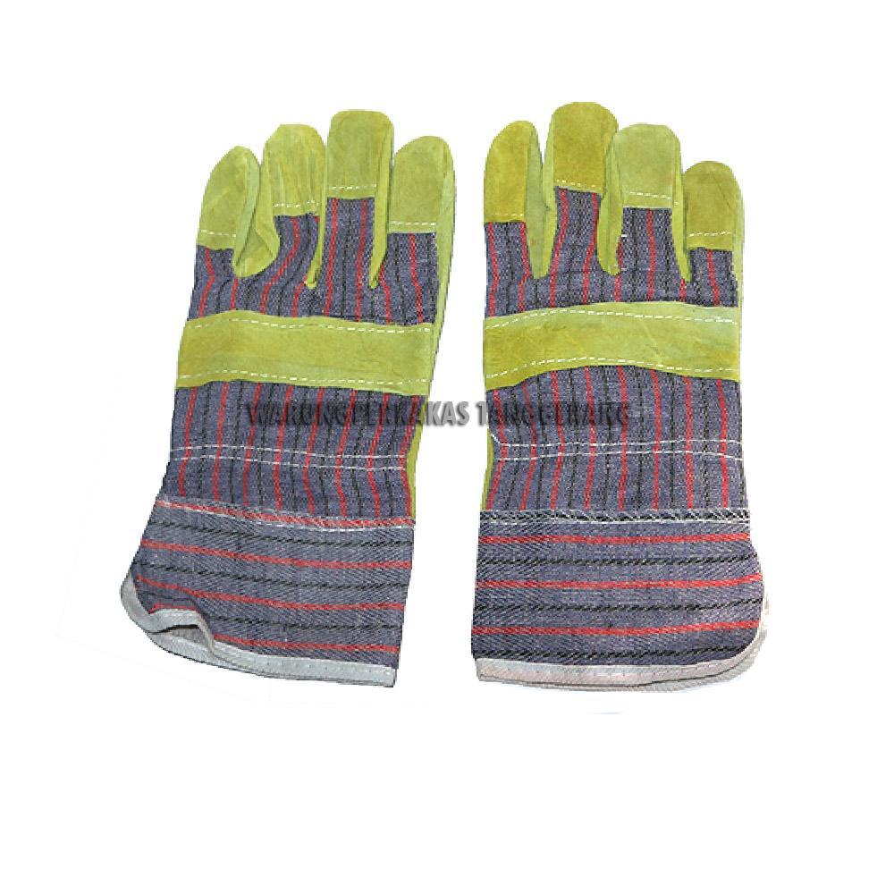 Sarung Tangan Las Kulit Pendek / Sarung Tangan Las Promo