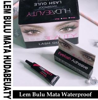 ( PROMO ) Lem Bulu Mata Palsu Kuat Dan Tahan Lama - Huda Beauty Eyelash Glue Waterproof - Huda Beauty thumbnail