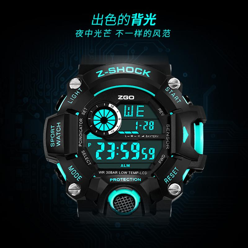Young Students Boys Sports Watch Boy High School Students Leisure Cool Trend of Fashion Korean Style Childrens Electronic Watch Malaysia