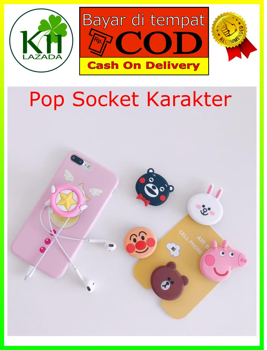 Kelontongunik PopSockets / Pop Socket/ Phone Holder/ Phone Stand/ Stand HP Seri 3 (PSXX-308 s/d PSXX-335)IDR6700. Rp 6.900