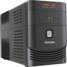 Miliki Segera Prolink Pro1200Sfc Super Fast Charging Line Interactive Ups 1200Va With Avr
