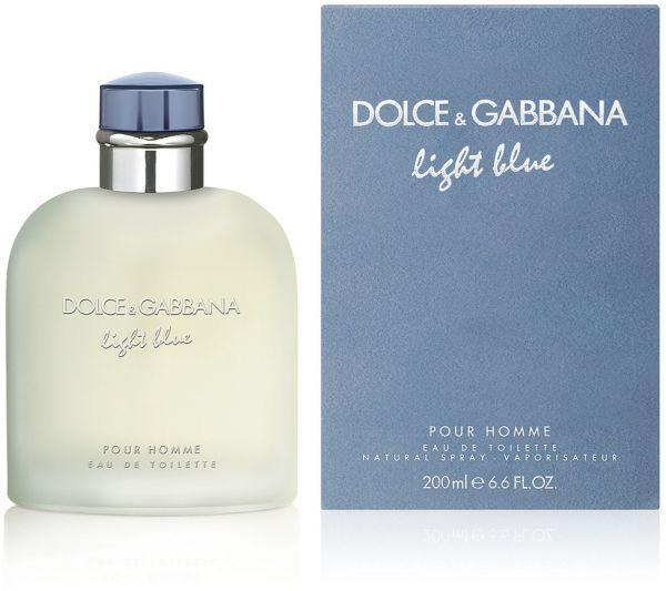 Dolce & Gabbana Light Blue Pour Homme Edt 200 ML