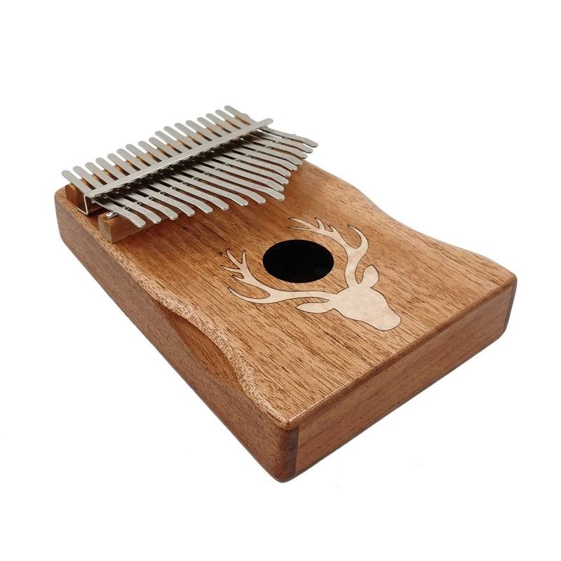 Kalimba 17 Key Thumb Piano Finger Piano Portable African Musical Instrument for Kids Adult Beginners Professionals