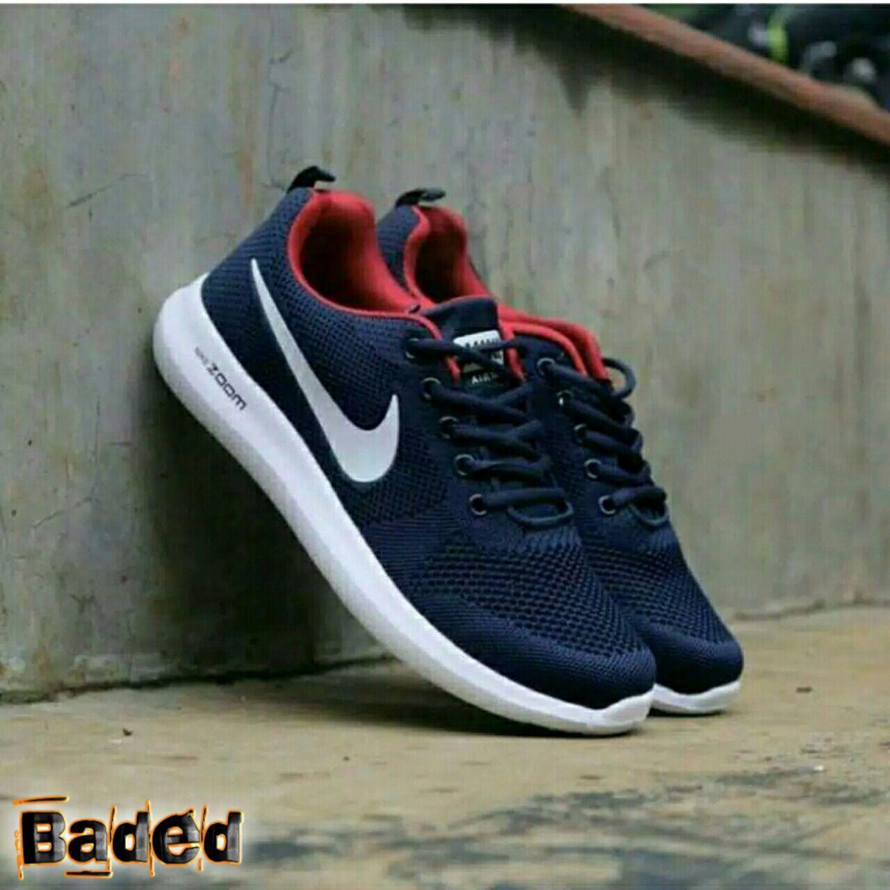Baded - Sepatu Keren Nikè Zoom Pria Import Vietnam - Sepatu Sneakers Sport  - Nevy d825e93dd3