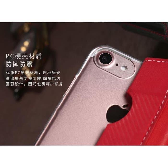 Barang Berkualitas Remax Foldy Series Leather Case for iPhone 7/8 Plus