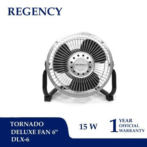 """Regency 6"""" / 15 cm Tornado Mini Fan / Kipas Angin Mini DLX-6"""