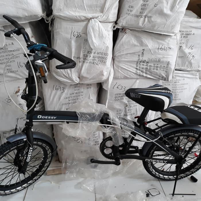 DISKON  Sepeda lipat anak dan dewasa odessy 16 inc