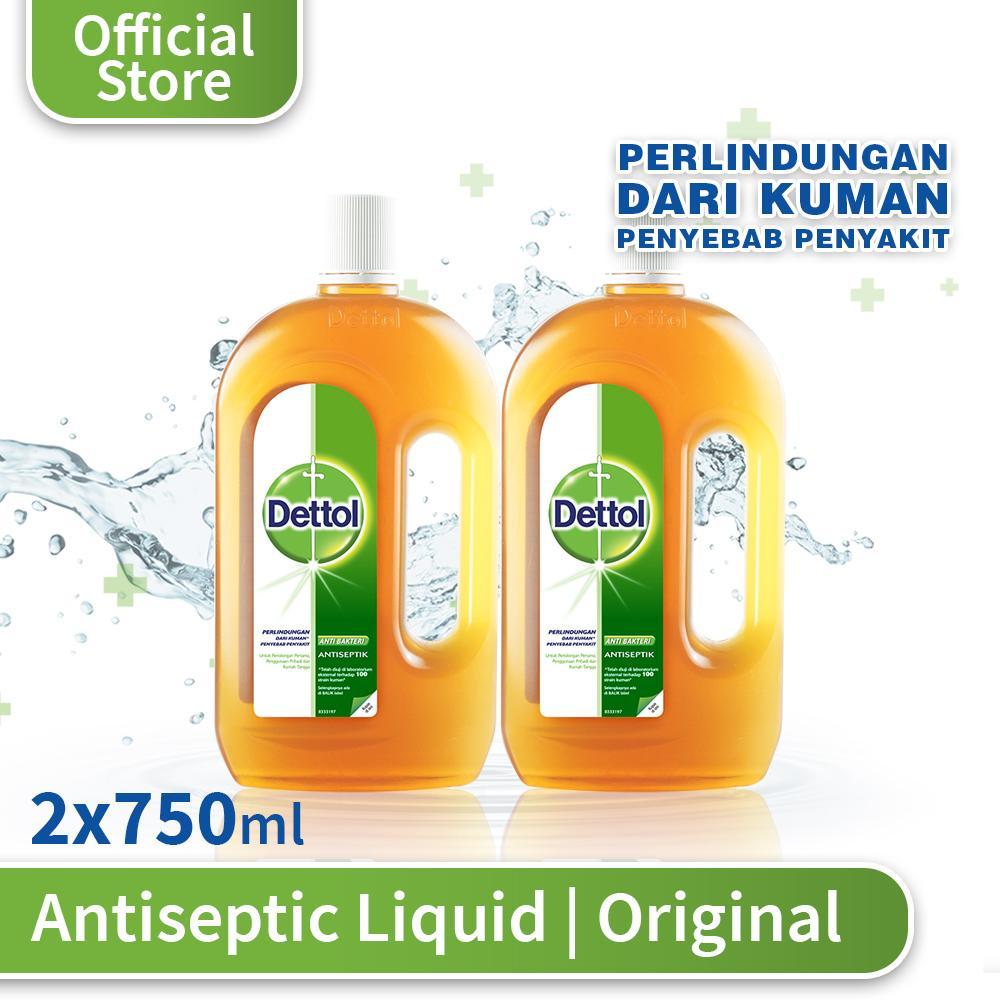 Dettol Antiseptic Liquid 750 Ml 2 Pcs By Dettol Official Store.