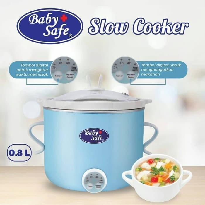 BabySafe LB 007 Slow Cooker with Timer Warmer