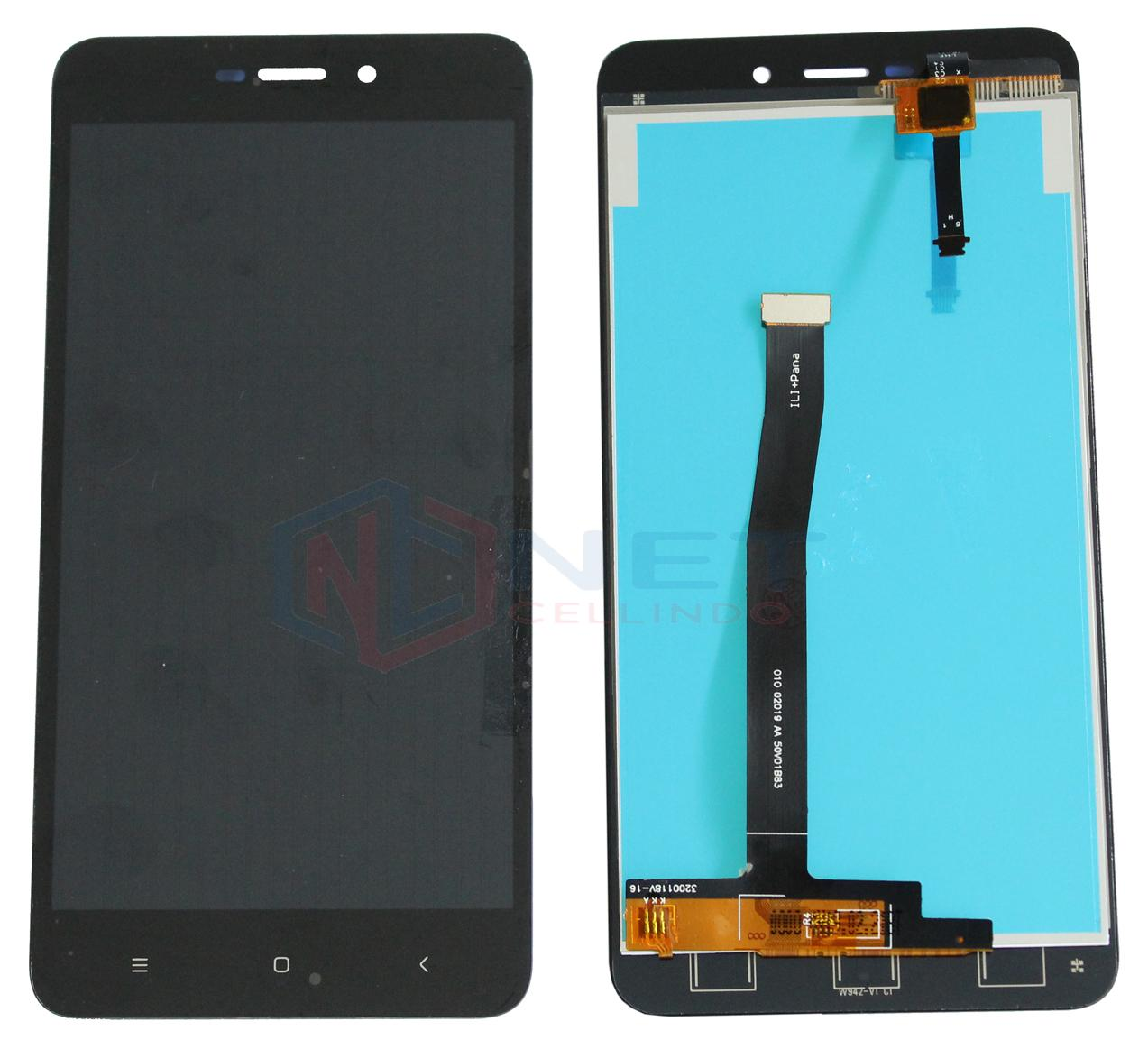 Lcd Fullset Xiaomi Redmi 4a + Touchscreen By Net Cellindo Sparepart Hp.