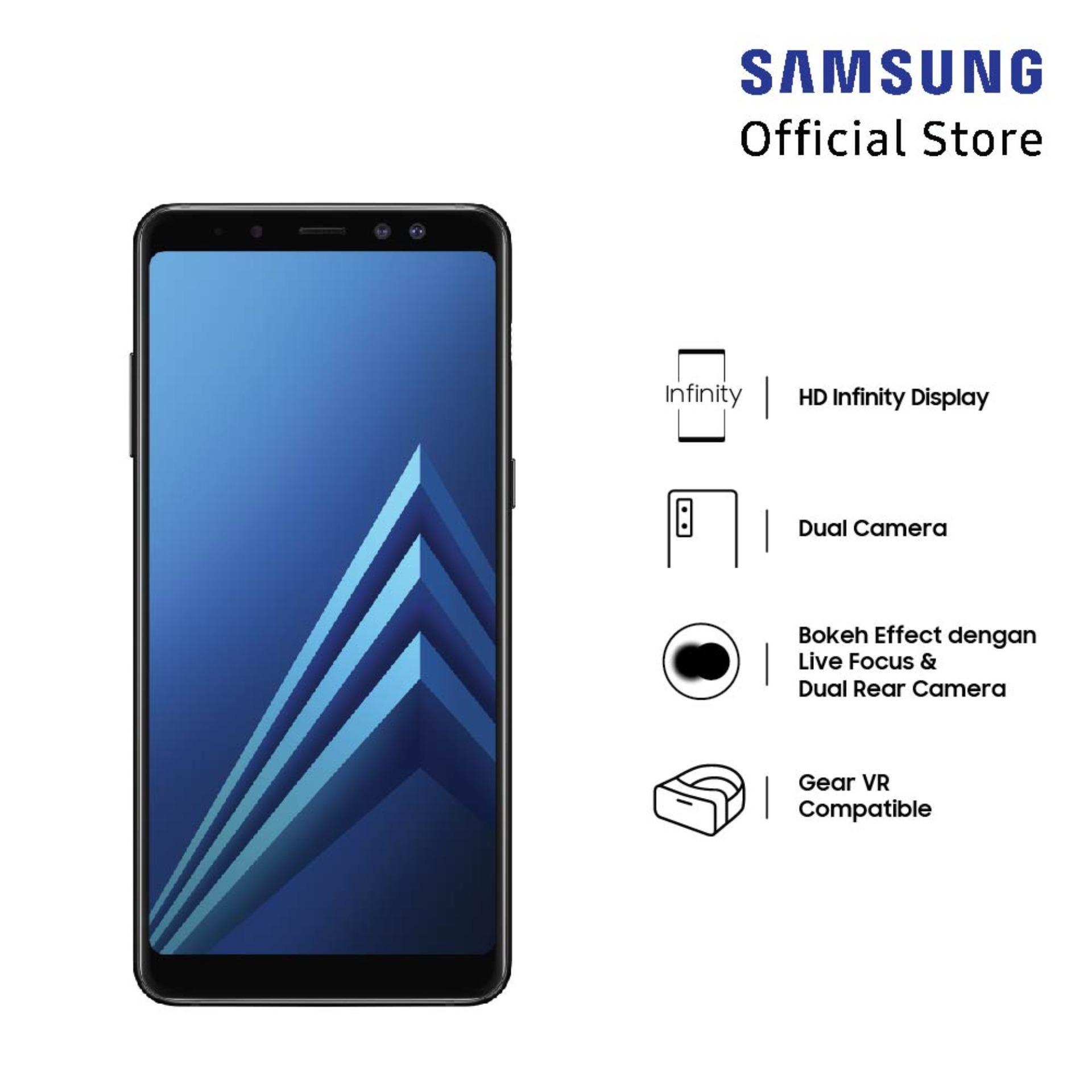Samsung Galaxy A8+ Black 6/64 GB