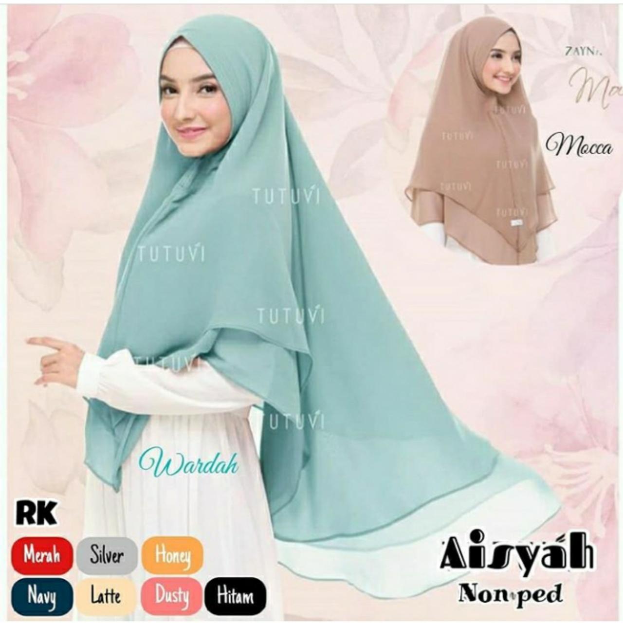 TF PROMO Bisa Bayar di Tempat Jilbab Murah Khimar Aisyah Hijab Instan Mewah Kerudung Instan Khimar Instan