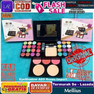 Termurah Bayar di Tempat ADS Roses Makeup Kit Rose EyeShadow Pallete Eye Shadow Beauty Palette Laz COD Mellius thumbnail
