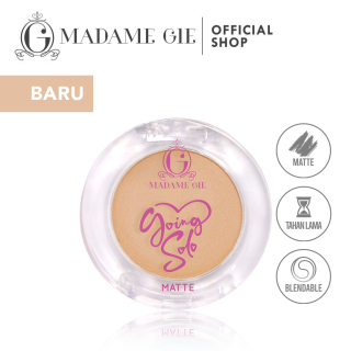 Madame Gie Going Solo Matte Pressed Eyeshadow - MakeUp thumbnail