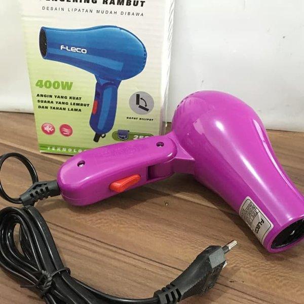 Hairdryer Mini Fleco 258 Hair Dryer Pengering rambut Hairdrayer c3556ab994