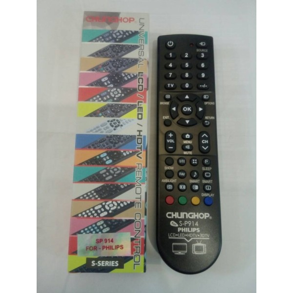 REMOT REMOTE TV LCD LED MULTI UNIVERSAL PHILIPS