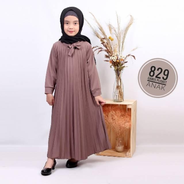 Gamis Plisket Anak Membeli Jualan Online Baju Muslim Jumpsuit Dengan Harga Murah Lazada Indonesia