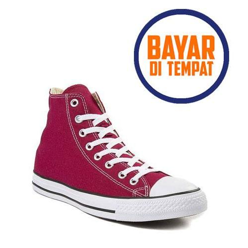 Pochinki Sepatu Sneakers Casual Star HIGH TOP   TINGGI Pria Wanita DENGAN  BOX   WITH BOX e408e95b1f