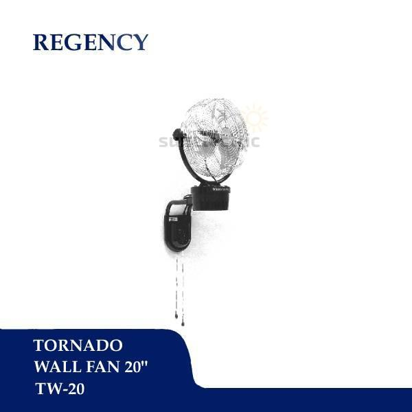 "Regency 20"" / 51 cm Tornado Wall Fan / Kipas Angin Dinding ..."