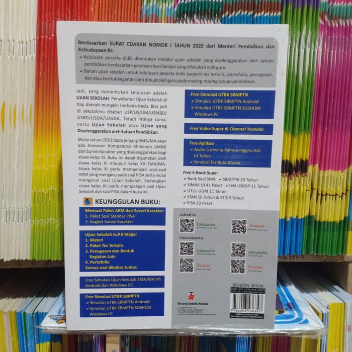 Bisa Cod Buku Panduan Sukses Ujian Sekolah Akm Sma Ma Ips 2021 Limited Lazada Indonesia